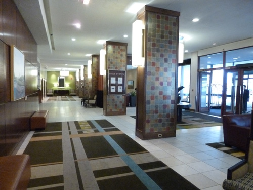 Fairmont Winnipeg Hotel Lobby