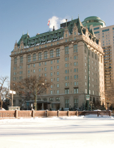 The Fort Garry Hotel in Winnipeg, Manitoba Canada